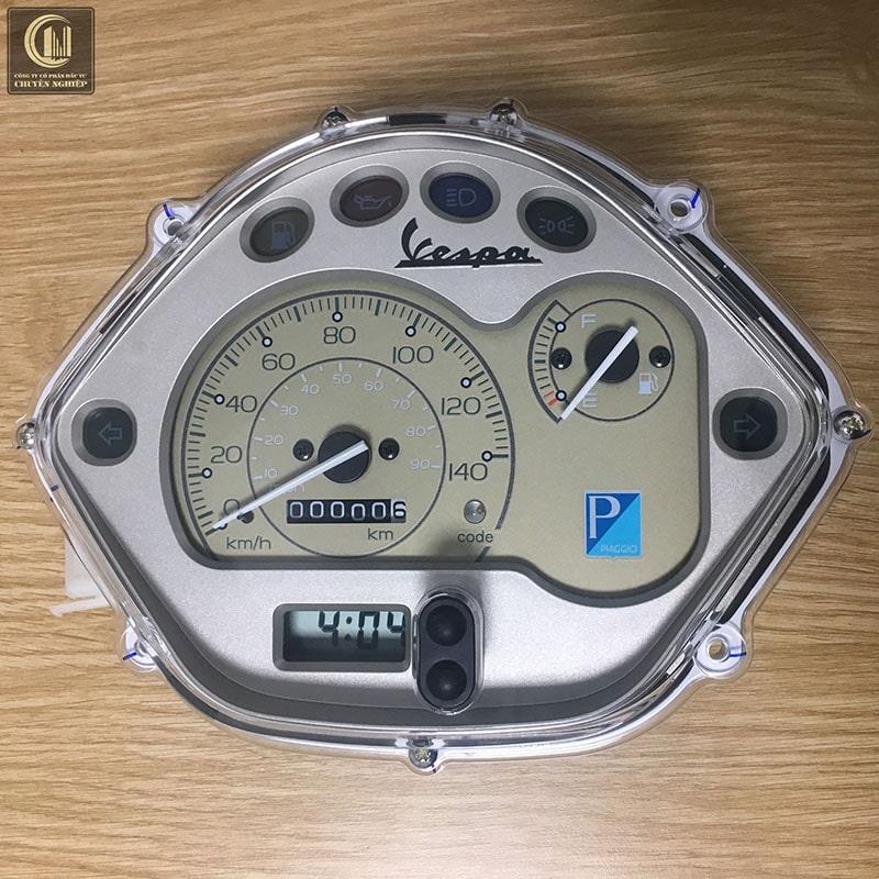 Cụm đồng hồ công tơ mét Vespa 2010