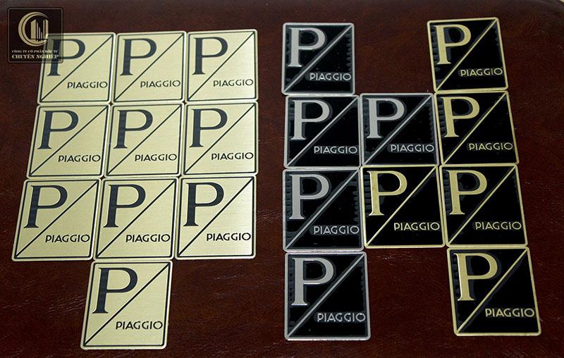 Logo Piaggio kiểu