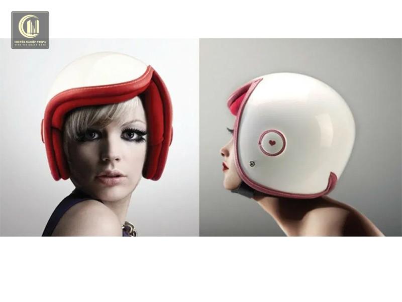 Mũ bảo hiểm Luxy Vespa của nhà thiết kế Daniel Don Chang