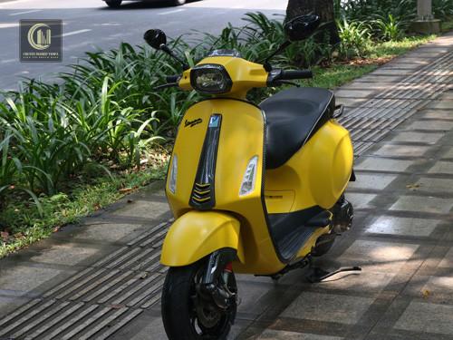 Sơn Xe Vespa Sprint – Combo Carbon