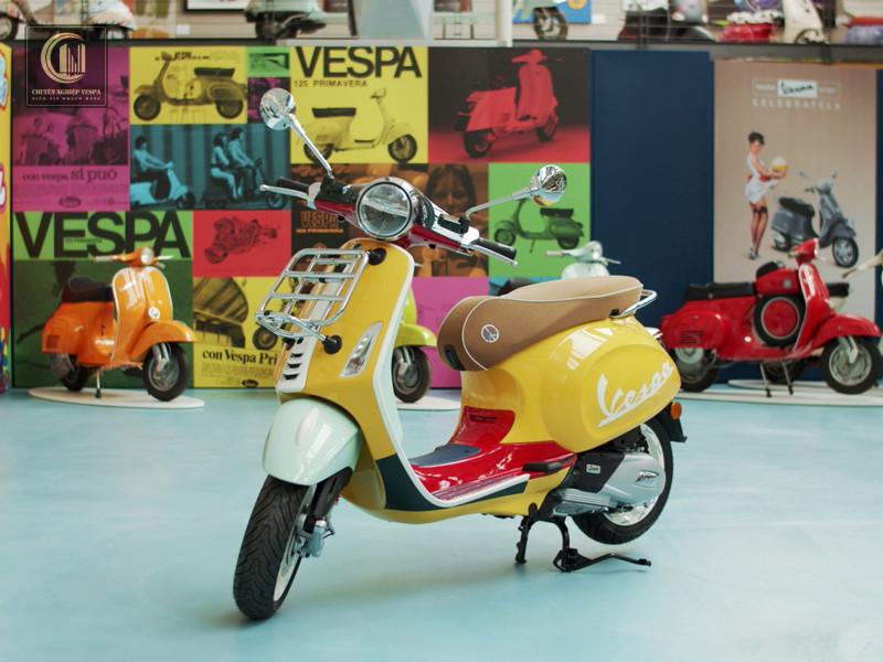 Vespa Primavera Sean Wotherspoon – Khác Biệt Và Độc Đáo